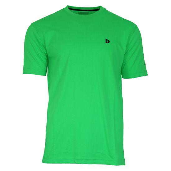 Donnay Donnay Heren - T-Shirt Vince - Appelgroen
