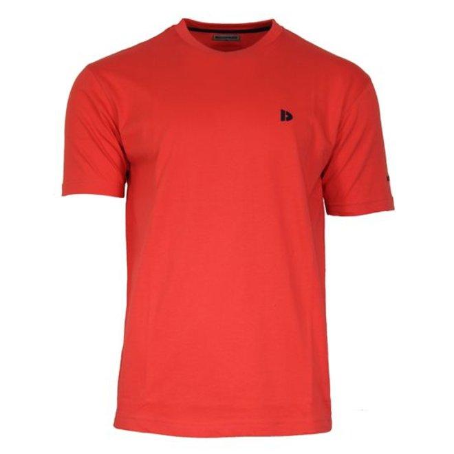 Donnay Heren - T-Shirt Vince - Licht oranje