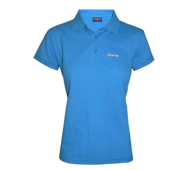 Donnay Polo shirt Dames - Oceaan blauw