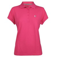 Donnay Polo shirt Dames - Fluo Roze
