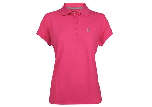 Donnay Donnay Polo shirt Dames - Fluo Roze