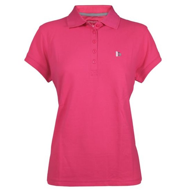 Donnay Dames - Polo Shirt - Fluo Roze