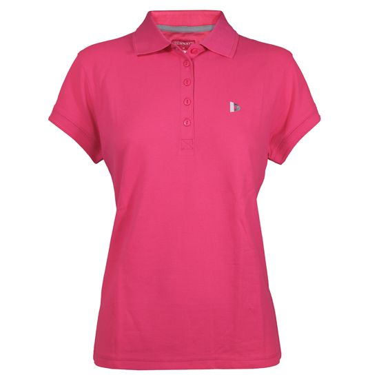 Donnay Donnay Dames - Polo Shirt - Fluo Roze