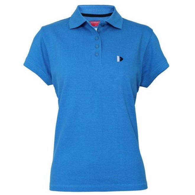 Donnay Dames - Polo Shirt - Blauw