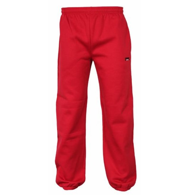 Donnay Junior - Joggingbroek met boord - Hard rood