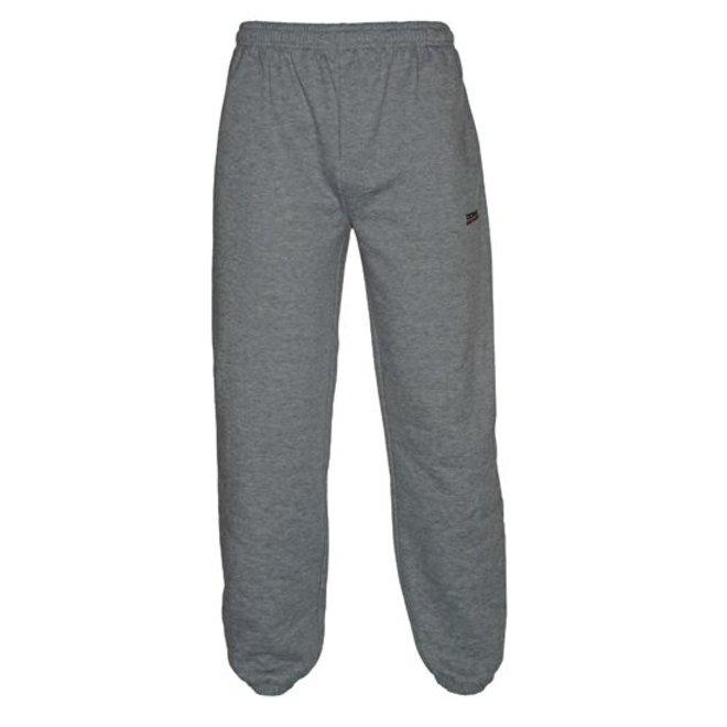 Donnay Junior - Joggingbroek met boord - Midden grijs gemêleerd