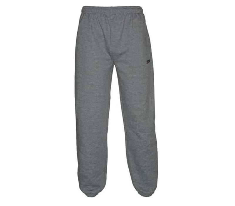Donnay Joggingbroek met boord - Junior - Midden grijs gemêleerd