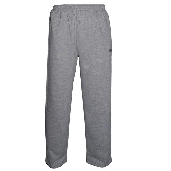 Donnay Donnay Heren - Joggingbroek met rechte pijp - Midden grijs gemêleerd