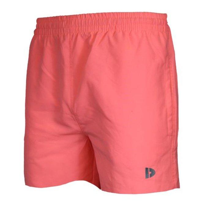Donnay Heren - kort Sport/zwemshort Toon - Zalm roze