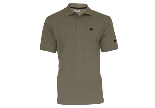 Donnay Donnay Polo pique shirt - Taupe