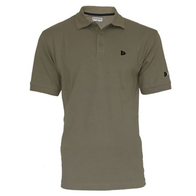 Donnay Heren - Polo shirt Noah - Taupe