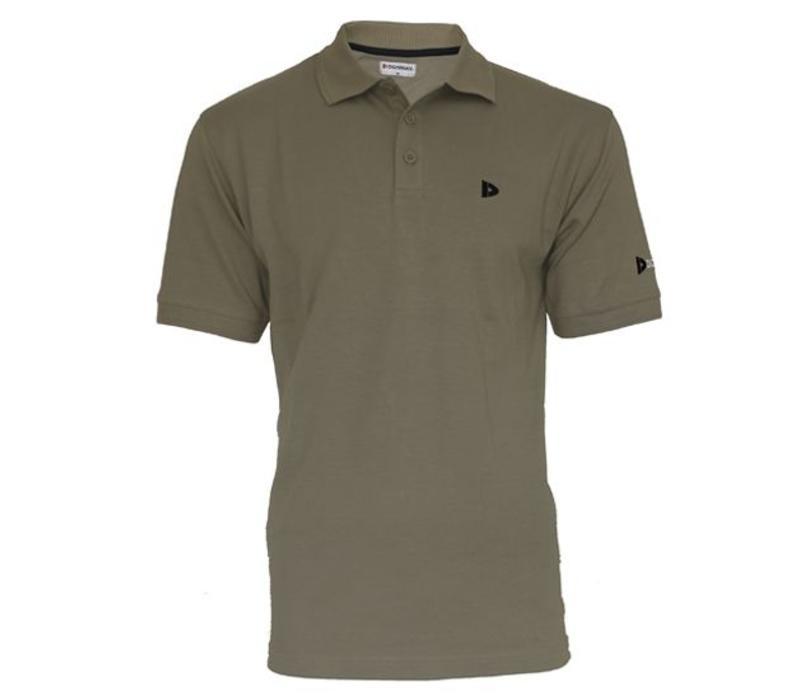 Donnay Polo pique shirt Noah - Taupe