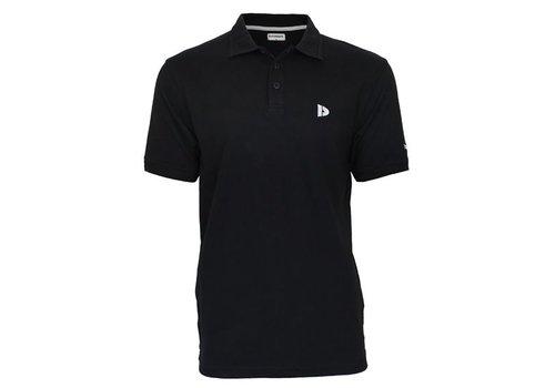 Donnay Donnay Polo pique shirt - Zwart