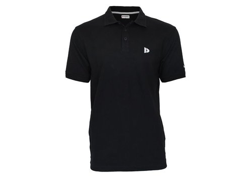 Donnay Donnay Polo shirt Noah - Zwart