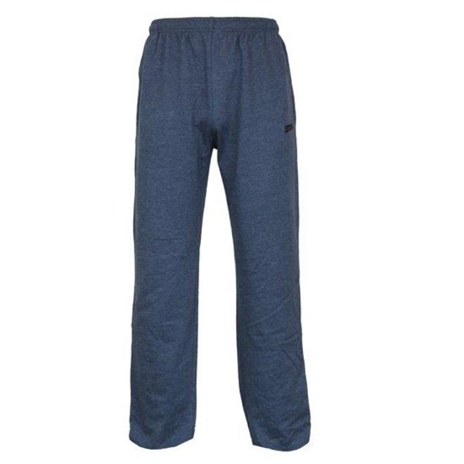 Donnay Heren - Joggingbroek met rechte pijp - Spijkerbroek blauw gemêleerd