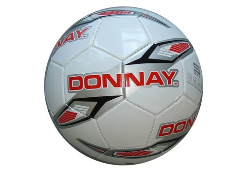 Donnay Donnay Veld voetbal No.5 - Wit/rood