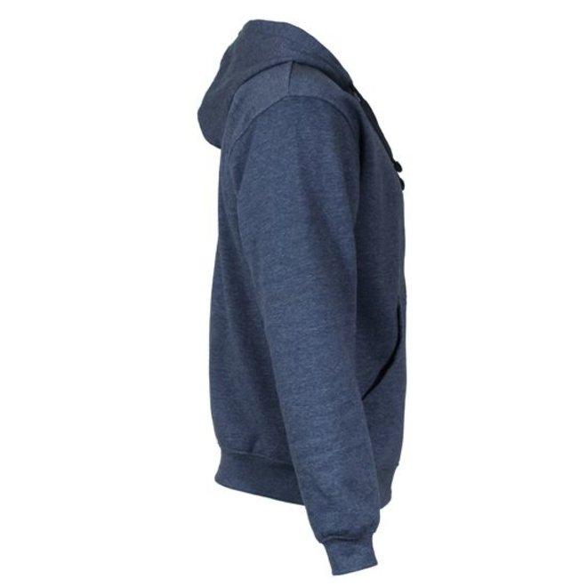 Donnay Heren - Vest met capuchon - Donker blauw gemêleerd