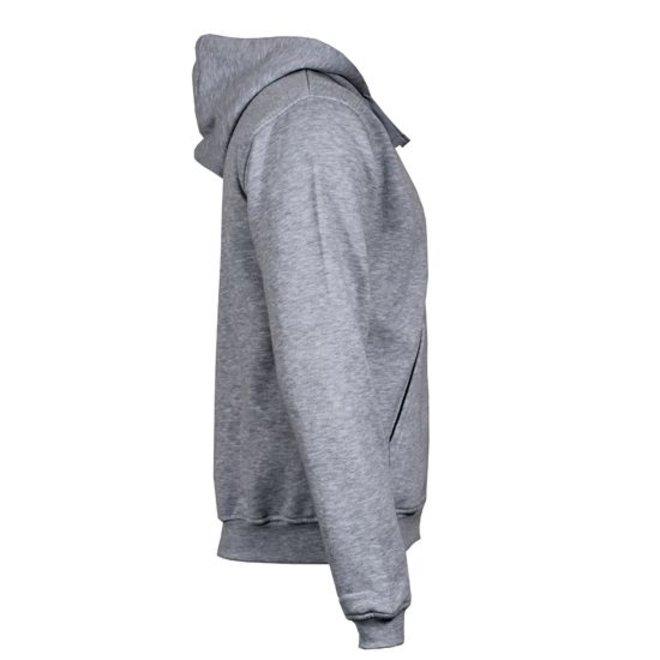 Donnay Heren - Vest met capuchon - Lichtgrijs gemêleerd