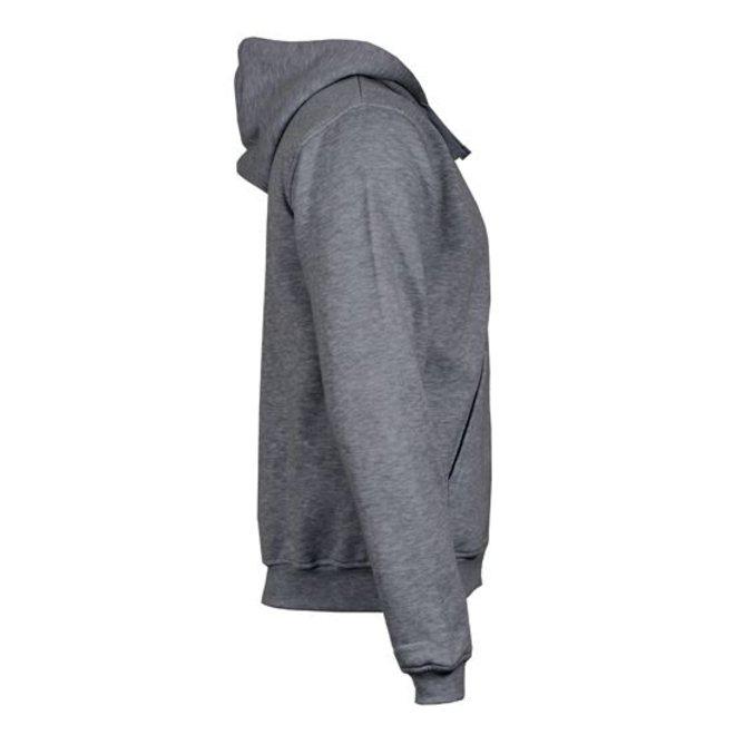 Donnay Heren - Vest met capuchon - Midden grijs gemêleerd