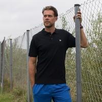 Donnay Polo pique shirt - Zwart
