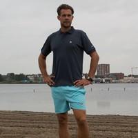 Donnay kort Sport/zwemshort Toon - Donker turquoise
