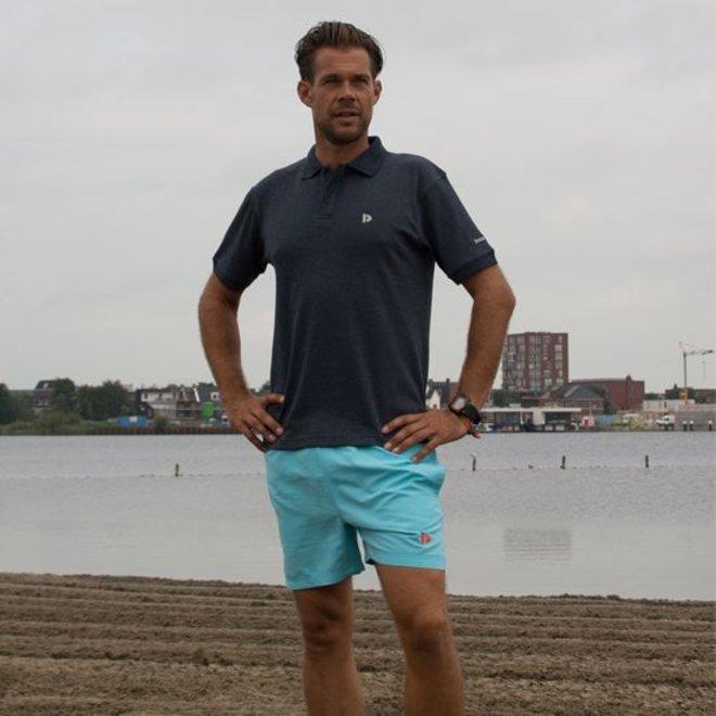Donnay Heren - kort Sport/zwemshort Toon - Donker turquoise