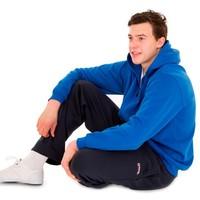 Donnay vest met capuchon - Korenblauw