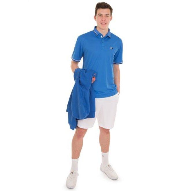 Donnay Heren - Korte sportbroek (cool dry) - Wit
