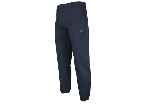Donnay Donnay Joggingbroek met boord - Donkerblauw