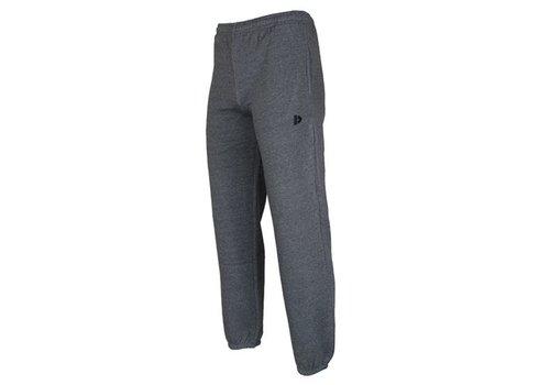 Donnay Donnay Joggingbroek met boord - Donker grijs gemêleerd  - NIEUW