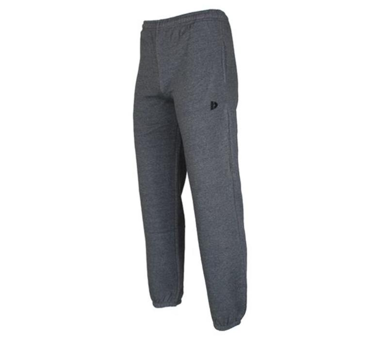 Donnay Joggingbroek met boord - Licht grijs gemêleerd