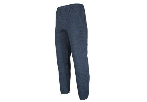 Donnay Joggingbroek met boord - Spijkerbroek blauw gemêleerd - NIEUW