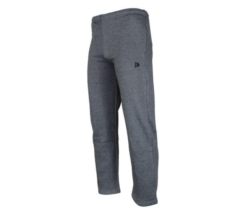 Donnay Joggingbroek met rechte pijp - Donker grijs gemêleerd  - NIEUW