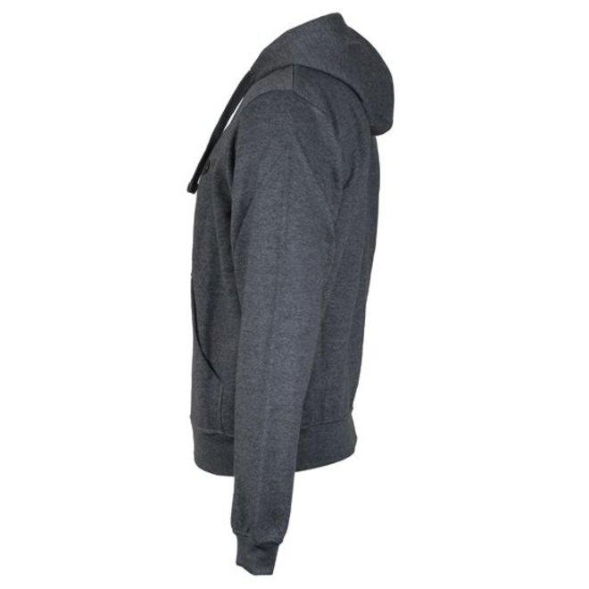 Donnay Heren - Vest met capuchon Bruce - Donkergrijs gemêleerd