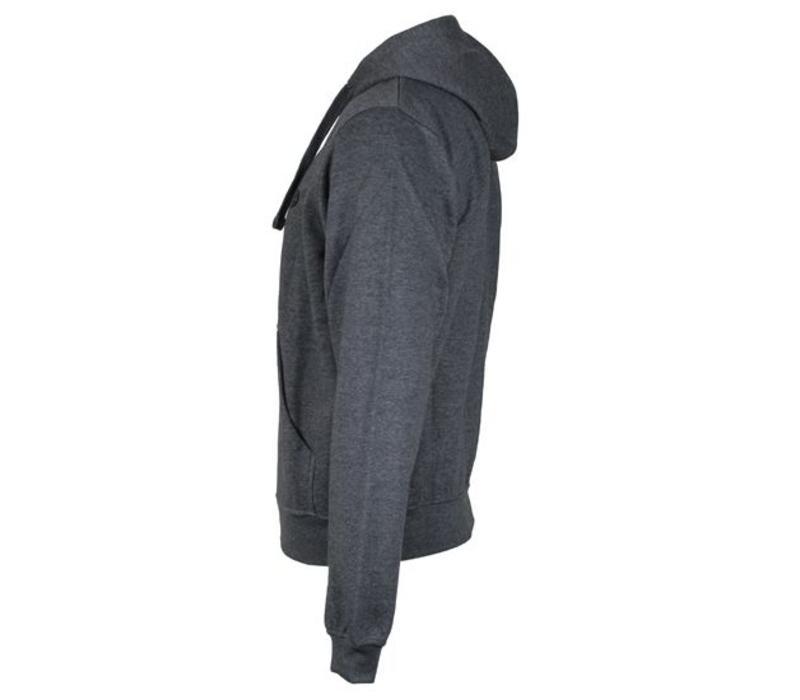 Donnay vest met capuchon - Donker grijs gemêleerd  - NIEUW