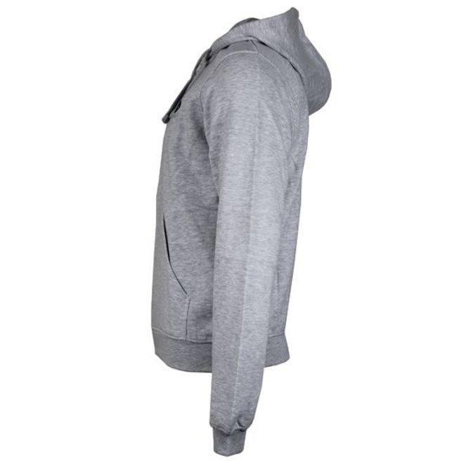 Donnay Heren - Vest met capuchon Bruce - Lichtgrijs gemêleerd