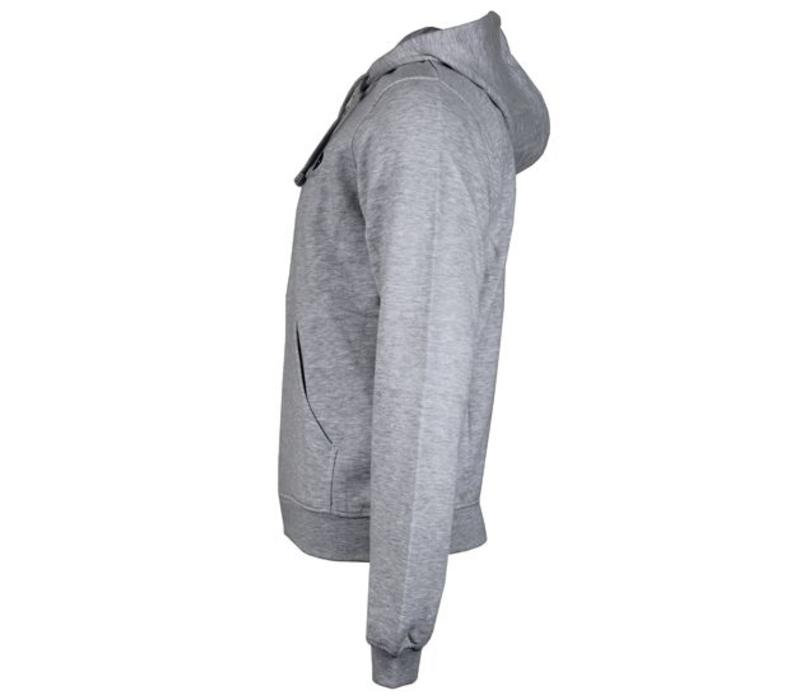 Donnay vest met capuchon - Licht grijs gemêleerd  - NIEUW