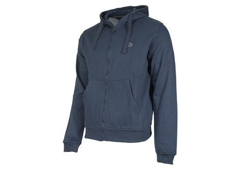 Donnay Sweater met hele rits en capuchon - Donkerblauw  - NIEUW