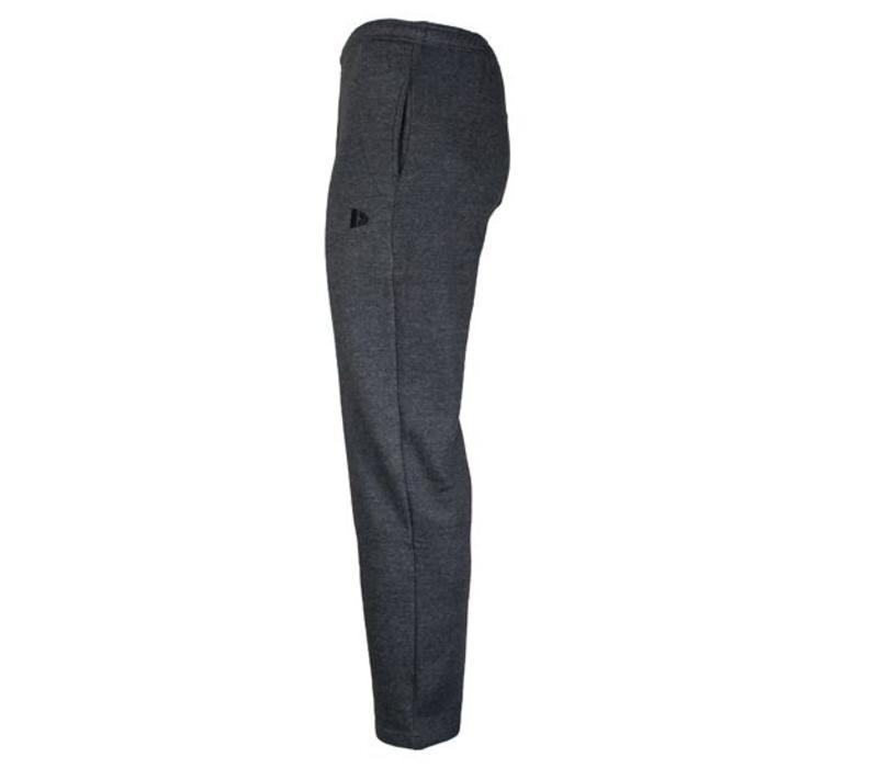 Donnay Joggingbroek dunne kwaliteit met rechte pijp - Donker grijs gemêleerd  - NIEUW