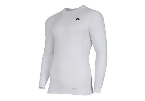 Donnay Donnay compressie shirt lange mouw - Wit