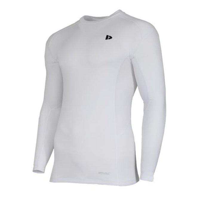 Donnay Heren - Ondershirt lange mouw - Wit