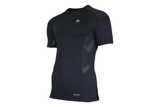 Donnay compressie shirt korte mouw - Zwart