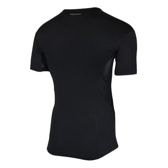 Donnay Heren - Ondershirt korte mouw - Zwart