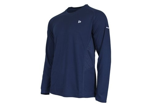 Donnay T-shirt lange mouw Multi sport - Donkerblauw