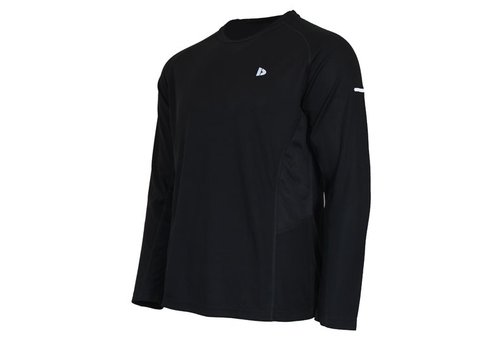 Donnay Donnay T-shirt lange mouw Multi sport - Zwart