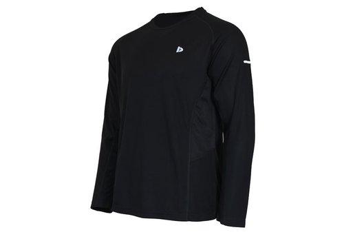 Donnay T-shirt lange mouw Multi sport - Zwart