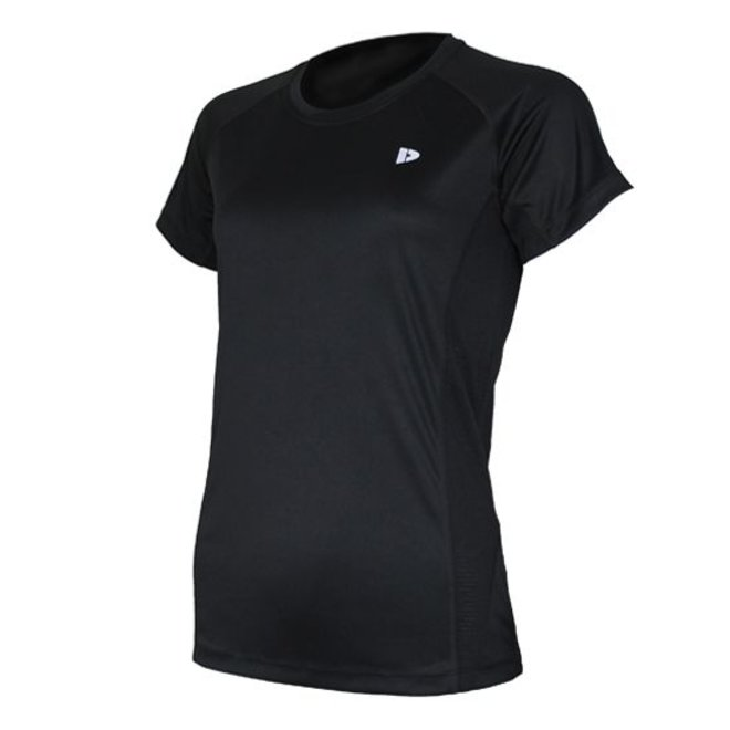 Donnay Dames - Multi Sport T-shirt - Zwart