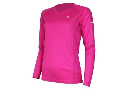 Donnay T-shirt lange mouw Multi sport - Roze