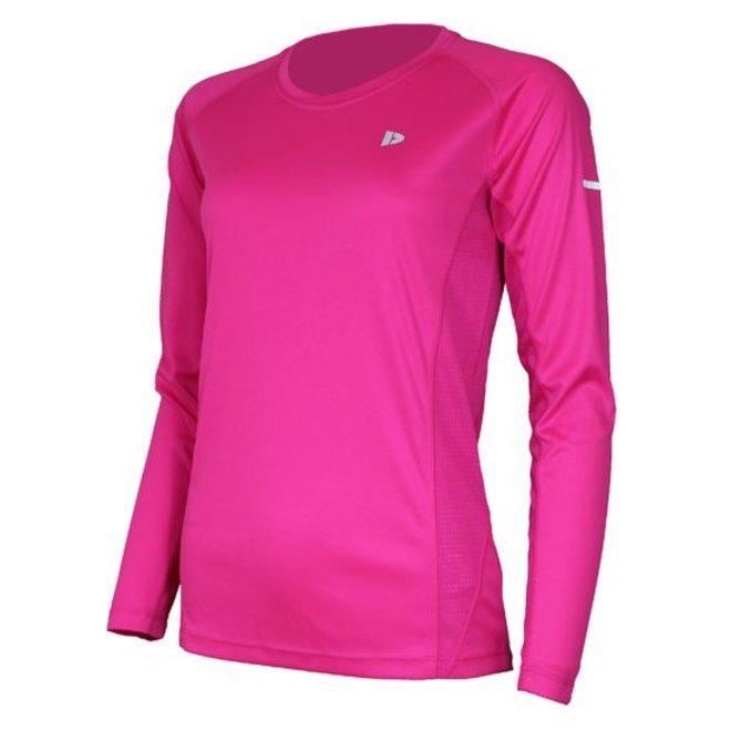 Donnay Dames - Multi Sport T-shirt lange mouw - Roze