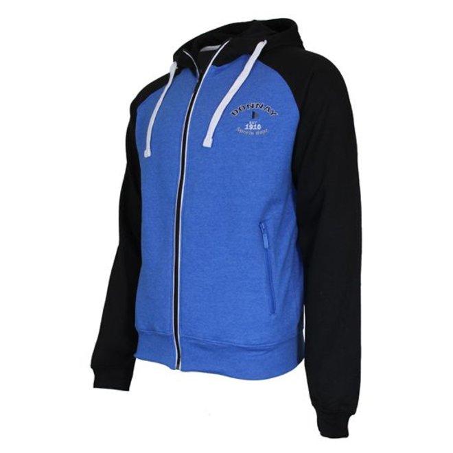 Donnay Heren - Vest met capuchon - Blauw/Zwart